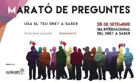 2016 Dia Internacional Dret a Saber