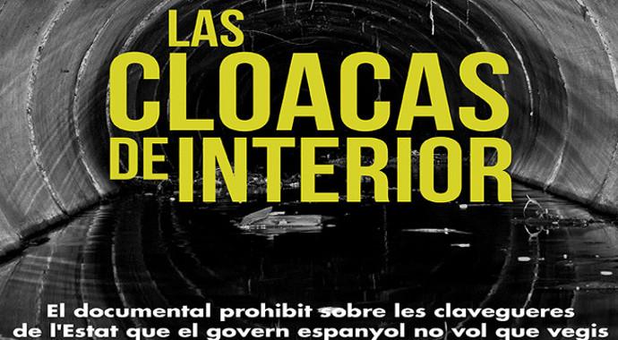 Cartell Documental Las Cloacas de Interior 4