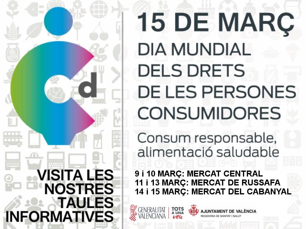 Resultat d'imatges de dia mundial dels drets d eles persones consumidores