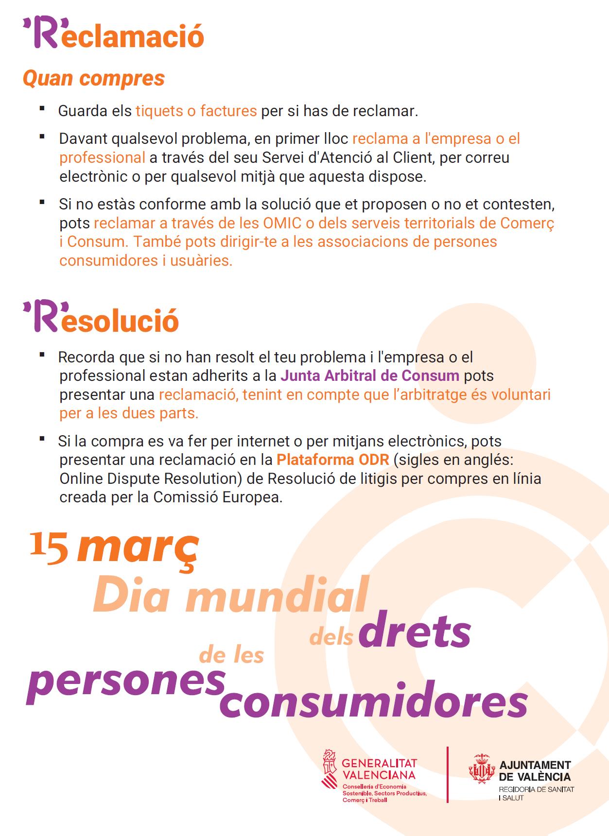 Dia Internacional Persones Consumidores 2