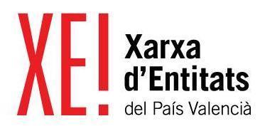 Logo Xara d'Entitats XE Roig i negre