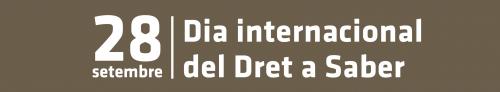 Ròrul Dia Internacional del Dret a Saber