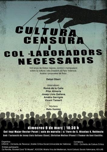 20160309 Cartell Cultura-Censura reduit