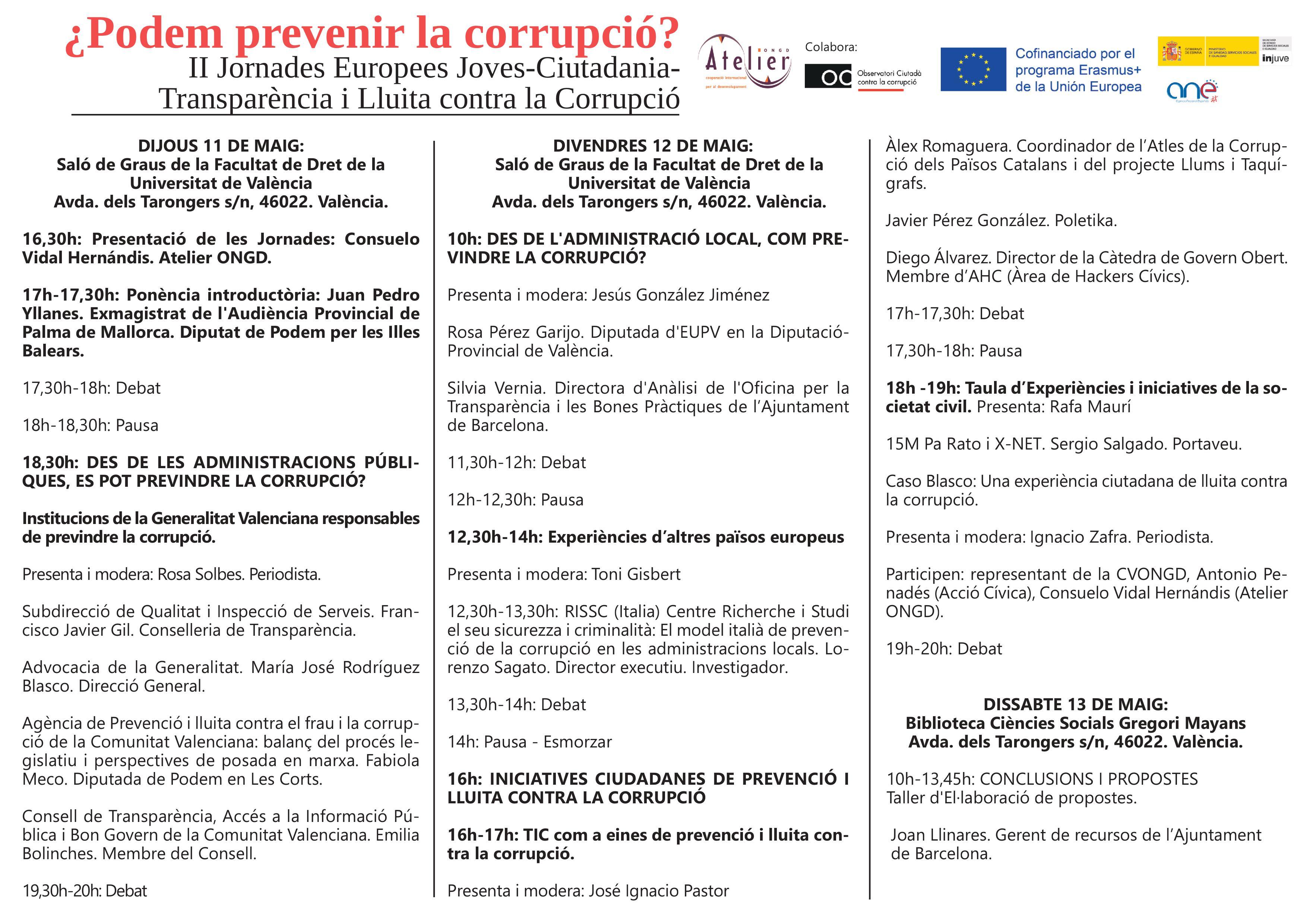 20170511 OCCC Programa II Jornades Europees