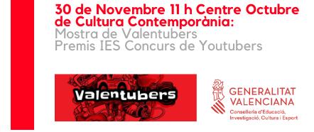 20191130 Muestra de Valentubers Premios IES Concurso Muestra de YouTubers
