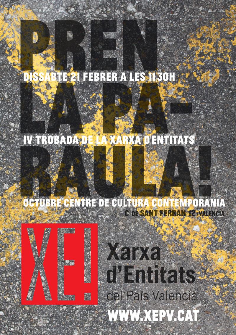 Cartell Trobada_XEPV_OCCC_Valencia21F