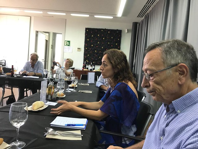 Conversa Oberta Estado d ela Cultura Inmaculada Ballesteros i Enrique Bustamante