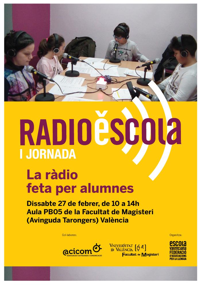 I_Jornada_RadioEscola_2016_cartell