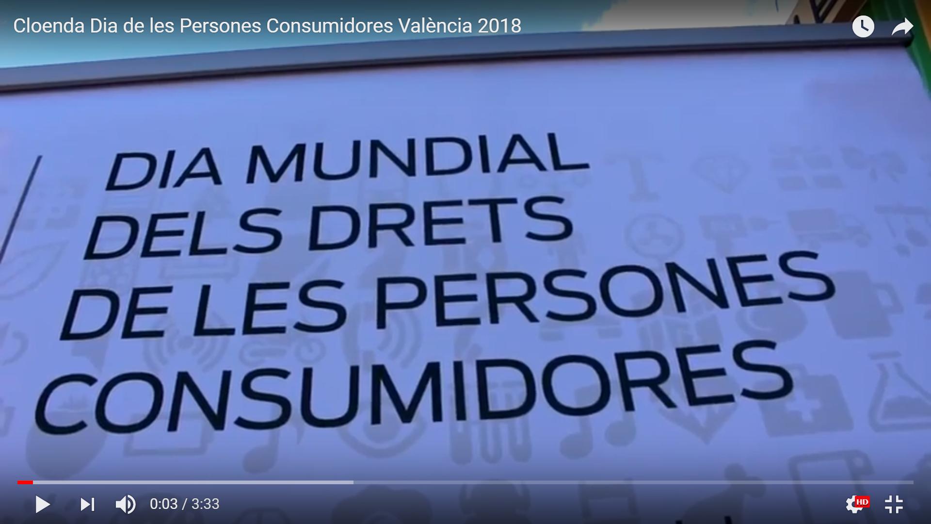Portada Dia Mundial dels Drets de les Persones Consumidores