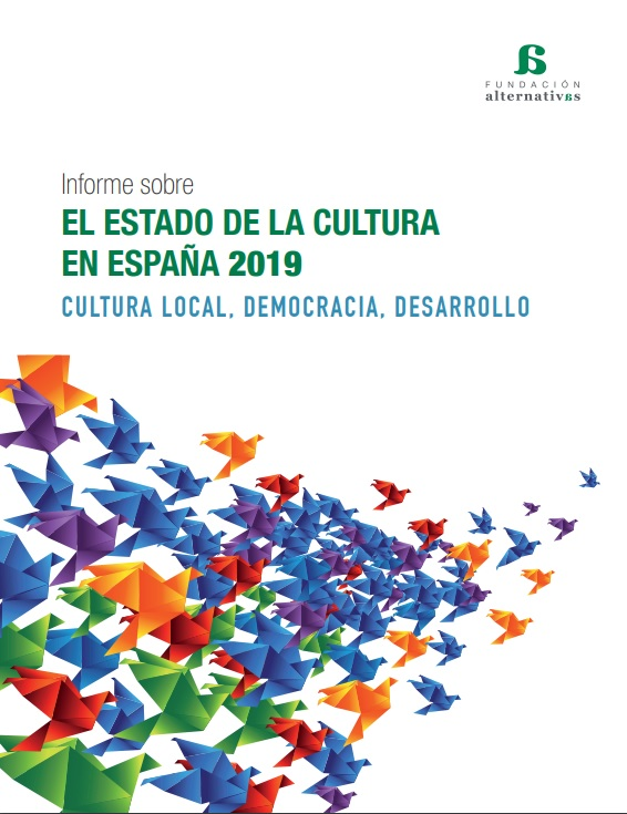 Portada Estado de la Cultura 2019 Fundación Alternativas