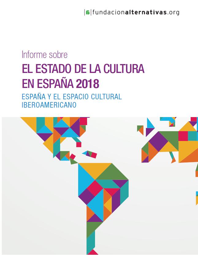 Portada Informe El Estado de la Cultura en España 2018