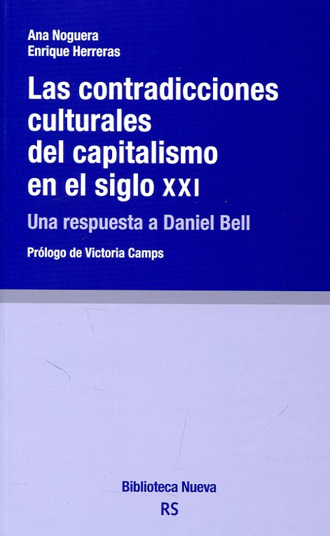 Portada del llibre Contradicciones Culturales del Capitalismo