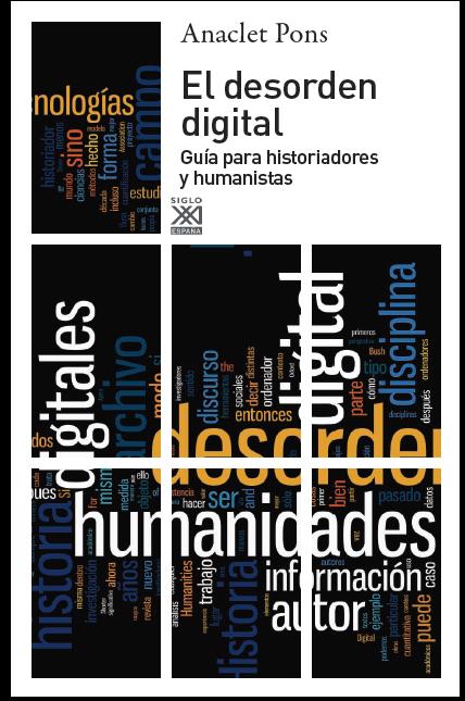 Portada llibre El desorden digital d'Anaclet Pons
