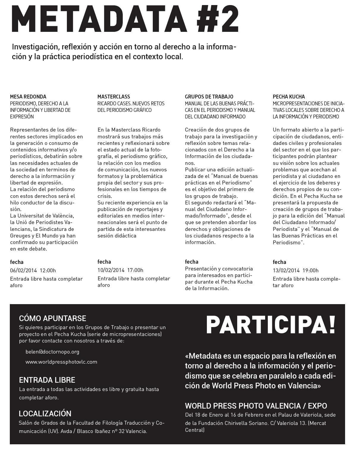 Poster acitivitats