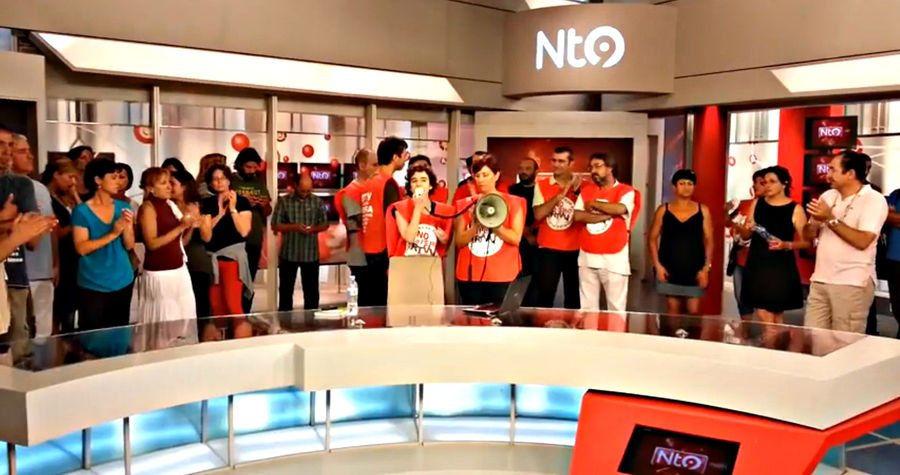 RTVV Al plató d'informatius