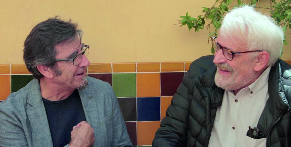 Pepe Reig i Fran Sanz